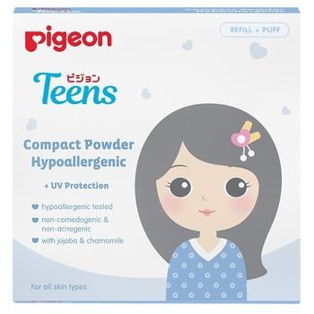 PIGEON Compact Powder Hypo 14 g - Beige Refill harga terbaik
