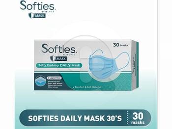 Softies Daily Mask 30's harga terbaik 55000