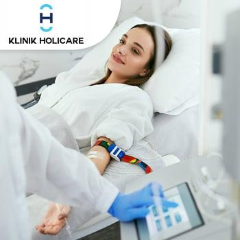 Terapi Ozon Transfusi di Klinik Holicare, BSD dan Bintaro