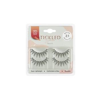 Tickled Seven - Twin Pack Eyelashes Fabulous Flair 2.1 harga terbaik