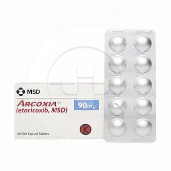 Arcoxia tablet adalah obat untuk mengatasi peradangan dan nyeri sendi