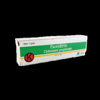 Psoriderm adalah obat yang digunakan untuk pengobatan penyakit kulit yang resisten seperti peradangan pada kulit.