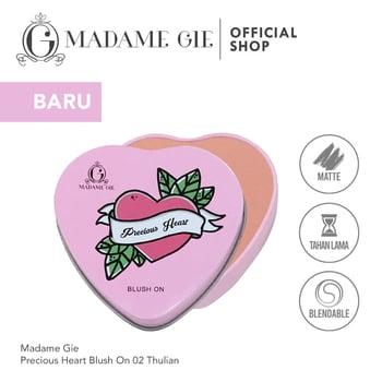 Madame Gie Precious Heart Blush On 02 - Thulian harga terbaik 25000