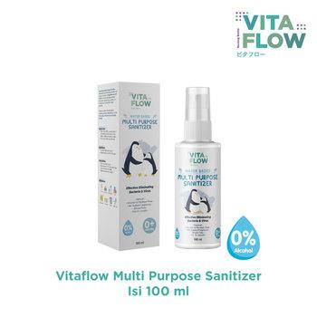 VITAFLOW Multi Purpose Sanitizer 100 mL harga terbaik 96000