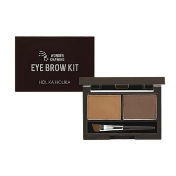 Holika Holika Wonder Drawing Eyebrow Kit 01 - Chocolate Brown