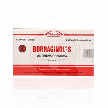 Borraginol-S Suppositoria  harga terbaik 17013