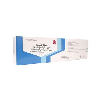 Rebal Plus kapsul digunakan untuk mengobati gangguan yang terjadi akibat kerusakan pada sistem saraf perifer atau sistem saraf tepi (neuropati perifer).