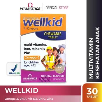 Vitabiotics Wellkid Tablet  harga terbaik 223000