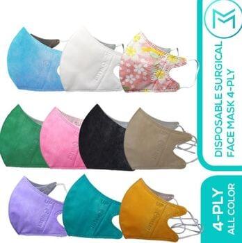 Maskit Masker 4ply Duckbill Mix 10 Warna - Earloop harga terbaik 39500