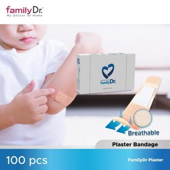 FamilyDr Adhesive Plaster Bandages 100pcs harga terbaik 50000