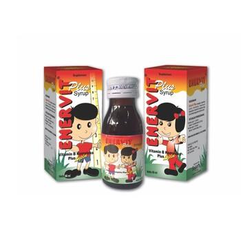 Enervit Plus Sirup 60 ml merupakan suplemen untuk membantu memenuhi kebutuhan vitamin