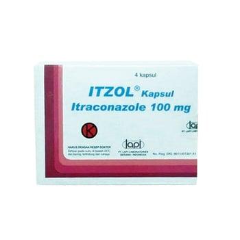 Itzol Kapsul adalah obat untuk mengatasi infeksi yang disebabkan jamur.