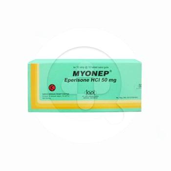 Myonep Tablet 50 mg (1 Strip @ 10 Tablet) | Manfaat dan Indikasi Obat, Dosis, Efek Samping