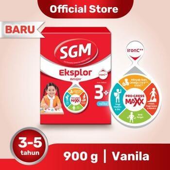 Manfaat Kalsium dalam SGM Eksplor 3 Plus Susu Pertumbuhan 3-5 Tahun Vanila 900 g