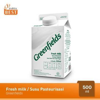 Greenfields Fresh Milk / Susu Pasteurisasi 500 ml harga terbaik