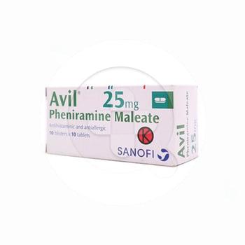 Avil tablet adalah obat untuk meringankan alergi yang hipersensitif dan menimbulkan rasa gatal di tubuh