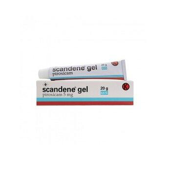 Scandene Gel adalah obat untuk menghilangkan rasa sakit dan peradangan