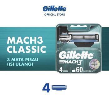 Gillette Refill Pisau Cukur Mach 3  harga terbaik 162000
