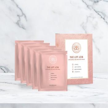 Beauty Boss x Heny Harun The Lift Job Sheet Mask set of 5 harga terbaik 450000