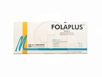 Folaplus Kaplet  Suplemen ibu hamil