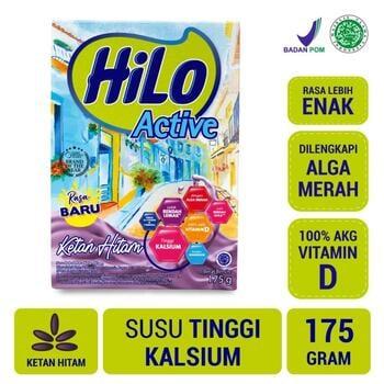 HiLo Active Ketan Hitam 175 g harga terbaik 48500