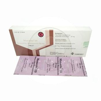 Monecto tablet digunakan untuk pencegahan dan pengobatan nyeri dada yang disebabkan oleh penyakit jantung koroner