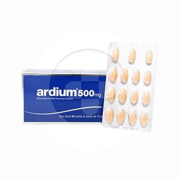 Ardium Tablet 500 mg  harga terbaik 9748