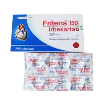 Fritens kaplet digunakan untuk mengobati tekanan darah tinggi.
