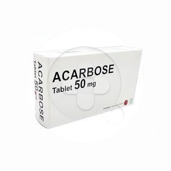 Acarbose tablet adalah obat untuk terapi kombinasi pasien diabetes tipe 2 yang disertai dengan diet.