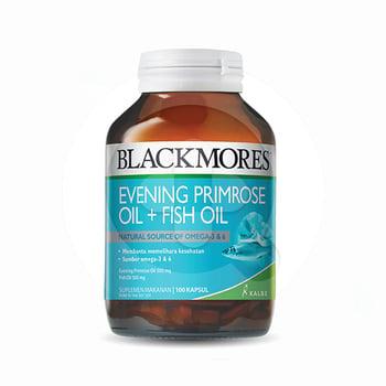 Blackmores Evening Primrose Oil + Fish Oil digunakan untuk membantu memelihara kesehatan