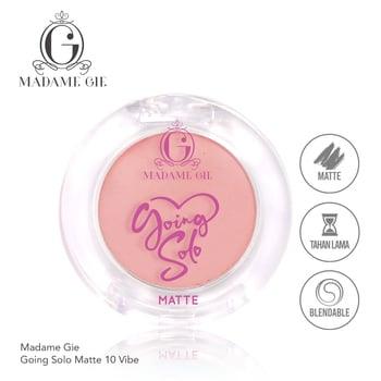 Madame Gie Going Solo Matte Pressed Eyeshadow 10 - Vibe harga terbaik 16000