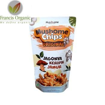 Mushome Chips-Keripik Jamur Rasa Original 60 g