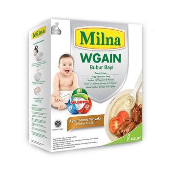 Milna Bubur Bayi Wgain Ayam Manis Teriyaki 8+ - 120 g