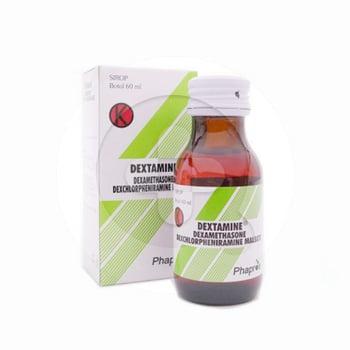 Dextamine sirup adalah obat untuk meringankan berbagai kondisi alergi