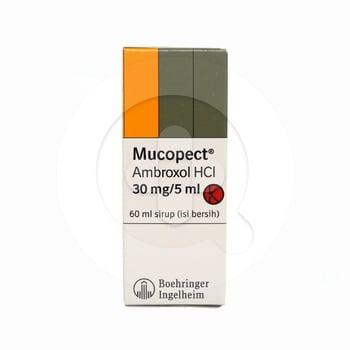 Mucopect sirup adalah obat yang digunakan untuk melegakan saluran pernapasan