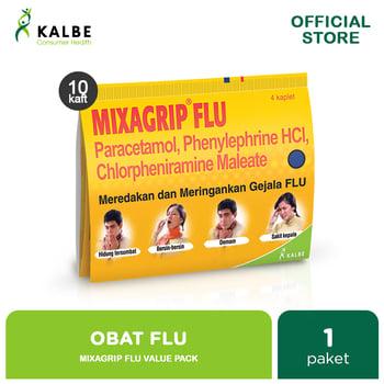 Mixagrip Flu Kaplet Value Pack  harga terbaik 25000