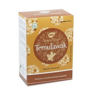Jamu IBOE - 1 Box IBOE Natural Drink Temulawak 5 Sachet harga terbaik 12000