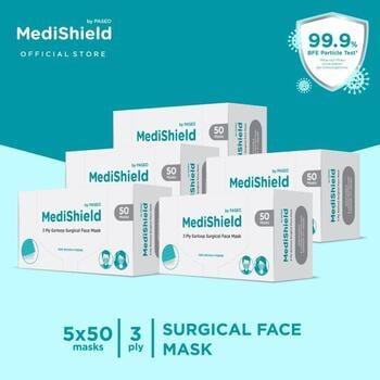 Medishield by Paseo Masker Surgical Earloop 3Ply  harga terbaik 520000