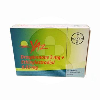 Yaz tablet adalah kontrasepsi oral yang mencegah kehamilan pada wanita