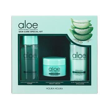 Holika Holika Aloe Soothing Essence Skin Care Special Kit harga terbaik 268000