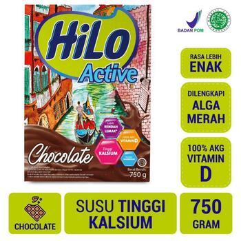 HiLo Active Chocolate 750 g harga terbaik 120000