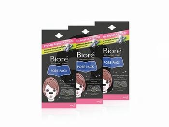 BIORE Pore Pack Black 4S x 3 harga terbaik 39300