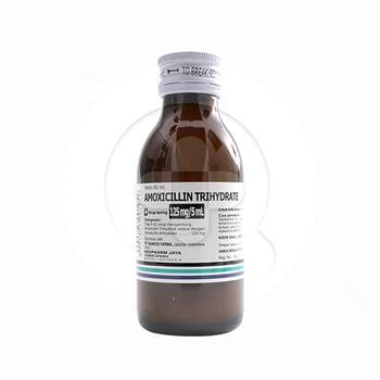 Amoxicillin Hexpharm Sirup Kering 125 mg/5 ml - 60 ml harga terbaik