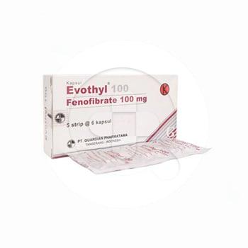 Evothyl kapsul adalah obat untuk menurunkan kadar kolesterol