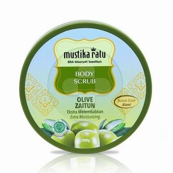 Mustika Ratu Body Scrub Zaitun 200 g harga terbaik 48100