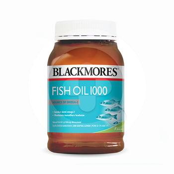 Blackmores Fish Oil 1000 digunakan untuk membantu memelihara kesehatan