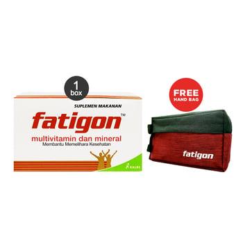 Fatigon Multivitamin 1 Box Special Bundle harga terbaik 68000