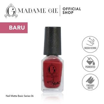 Madame Gie Nail Matte 06 Can Can harga terbaik 7200