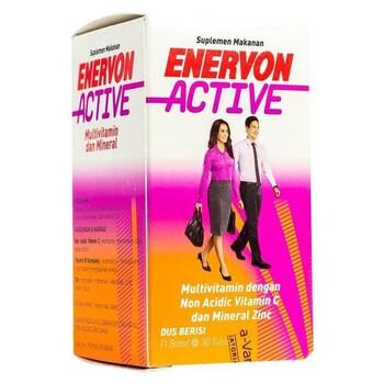 Enervon C tablet adalah suplemen untuk menjaga daya tahan tubuh