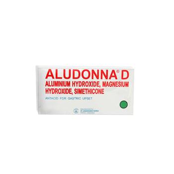 Aludonna D tablet adalah obat untuk mengatasi gangguan saluran cerna akibat produksi asam lambung